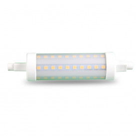 Bombilla LED LINEAL R7s 10W 118mm 4500K Luz NATURA