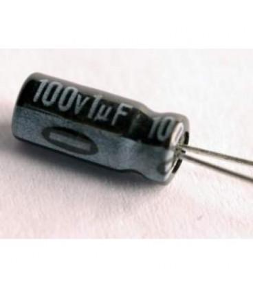 Condensador Electrolitico 1uF 100V 105ª 5x11mm