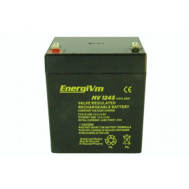 Bateria PLOMO 12V 4,5Ah AGM 90x70x107mm ENERGIVM