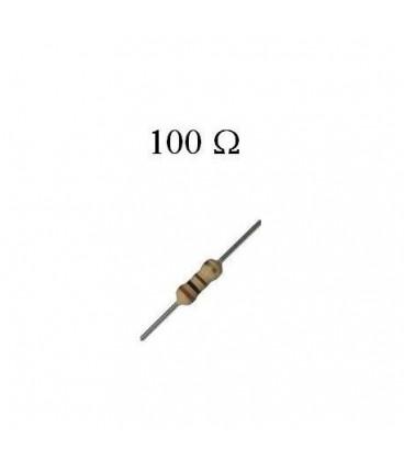 100R 1/4W Resistencia Carbon 100 Ohm 1/4W 2%