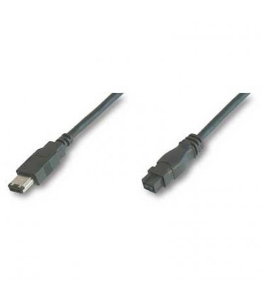 Cable FIREWIRE 9-6 IEE1394 1,8mts NANOCABLE