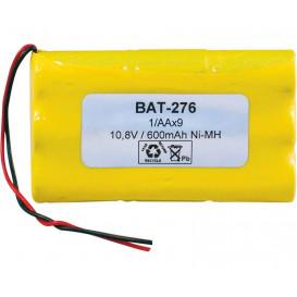 Bateria 10,8V 600mA NiMh 2/3AAx9 ParckRacing