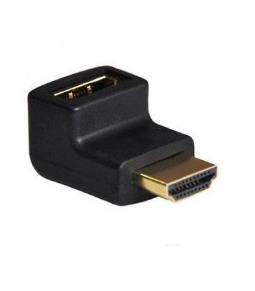 Adaptador HDMI Macho-Hembra Acodado