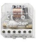 Telerruptor FINDER 230Vac 2Ctos. 1 cerrado y otro Abierto 10A/250Vac Biestable