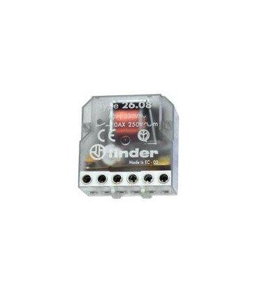 Telerruptor FINDER 230Vac 2Ctos 10A Biestable 26088230.0000