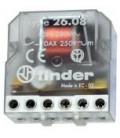 Telerruptor FINDER 230Vac 2Ctos Abiertos en reposo 10A/250Vac Biestable 26088230.0000