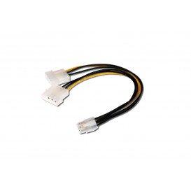 Cable PCI Express 2x5.25 Macho a 1x6 Pin