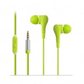 Auricular con Microfono Miniatura VERDE