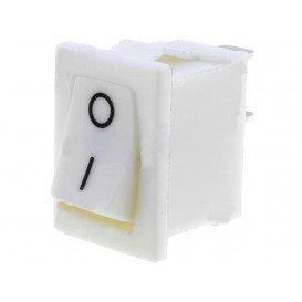Interruptor Basculante 1Cto 3A/250V BLANCO
