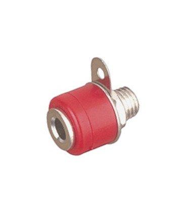Hembrilla Roja 4mm pequeña