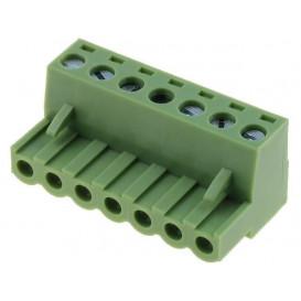 Conector de Bornas Hembra 7 contactos paso 5.08mm