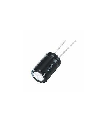 Condensador Electrolitico 10uF 100V 105ºC medidas 6x11mm