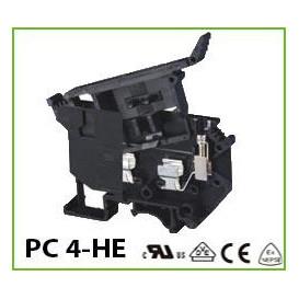 PortaFusible 5x20 para Carril DIN 6,3Amp 800Vac