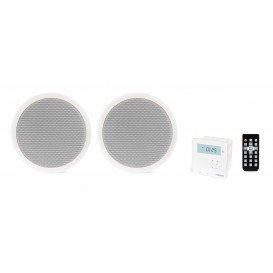 Kit Sonido Empotrar Techo con Bluetooth y radio FM