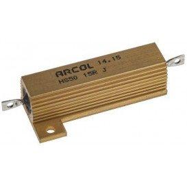 Resistencia Potencia 15R 50W 5% Metalica ARCOL