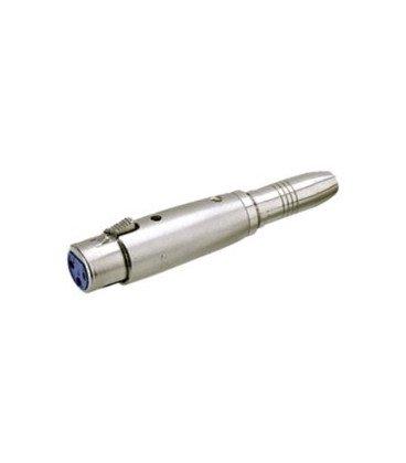 Adaptador XLR Hembra 3Pin a JACK Hembra 6,3 ST
