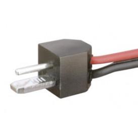 Conector Macho PUNTO y RAYA C/Cable 250mm
