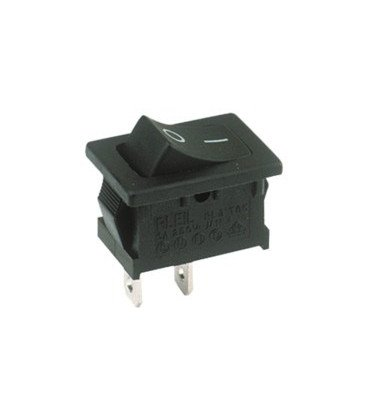 Interruptor Basculante 1Cto. 10A 3posic ON-OFF-ON