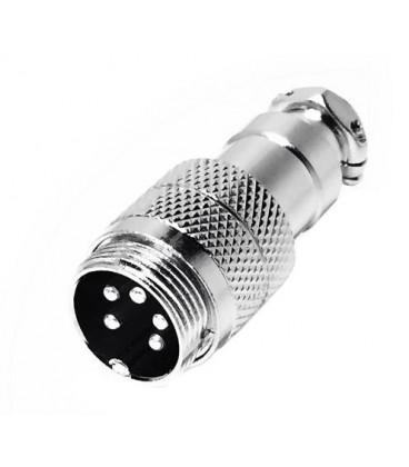 Conector DIN Rosca Macho 5Pin 10.230/5/P