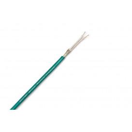 Bobina 100m Cable Audio Microfono 2x0,35mm VERDE
