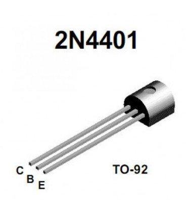 Transistor NPN 40V 600mA TO92 2N4401BU