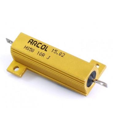 Resistencia Potencia 10R 50W 5% Metalica ARCOL