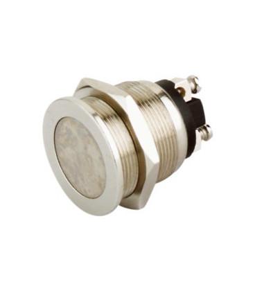 Pulsador Antivandalico Plano Metal IP40 11.548.P