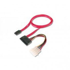 Cable SATA a SATA 100cm con alimentacion MOLEX