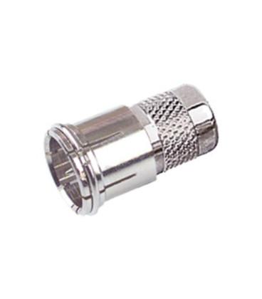 Conector F Macho Coaxial 7mm Rapido a torsion