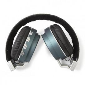 Auriculares Bluetooth Arco SD FM Azul