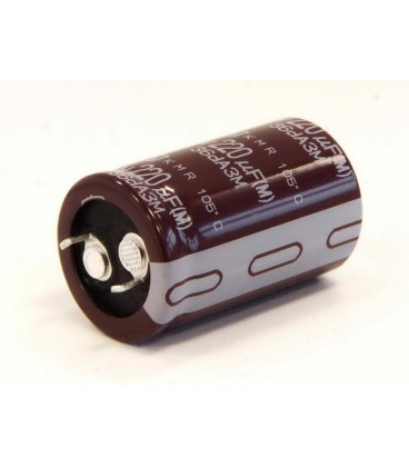 Condensador Electrolitico 220uF 400V 105º 30x31mm