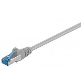 Cable Red Latiguillo RJ45 FTP Cat6a 0,5m CU Gris