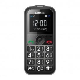 Telefono movil DUAL SIM SENIOR GRIS