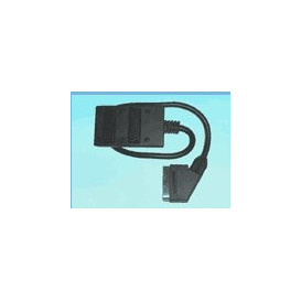 Cable EURO Macho a 2 EURO Hembras 91780