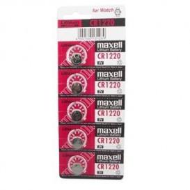 Pila Litio CR1220 MAXELL 3V (Precio de 5 pilas)