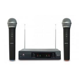 Microfonos Inalambricos Mano VHF 2 Microfonos
