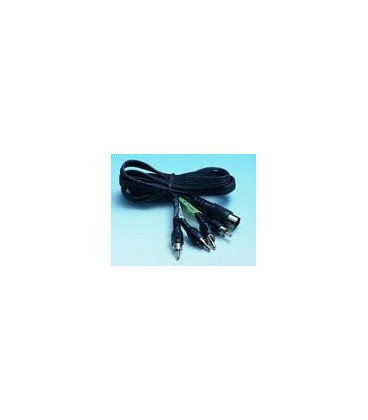 Cable RCAx4 Machos a DIN 5Pin 1,5mts