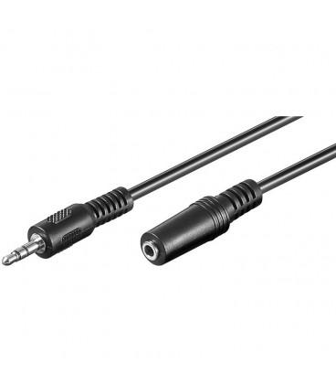 Cable JACK 3,5 ST Macho-Hembra 3,5 ST 5m
