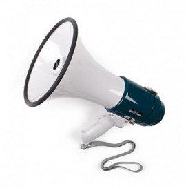 Megafono 16W con sirena a pilas y a 12V