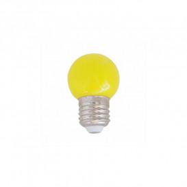 Bombilla LED AMARILLO 1W 230Vac 360º