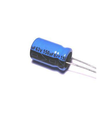 Condensador Electrolitico 150uF 63V 105º 10x16mm