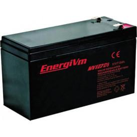 Bateria PLOMO 12V 7Amp AGM Medidas 151x65x101mm ENERGIVM 10382