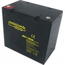 Bateria PLOMO 12V 55Ah UPS/Sais 229x138x213mm ENERGIVM
