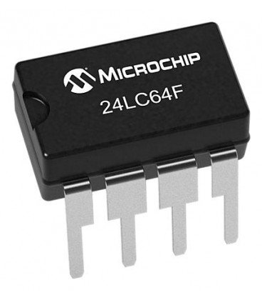 Circuito Integrado Memoria EEprom 8Kx8bit Dip8 ST24LC64F I/P