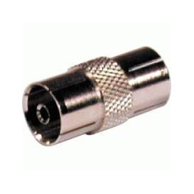 Adaptador Antena TV Hembra-Hembra 9,5mm METAL 10.522/FF