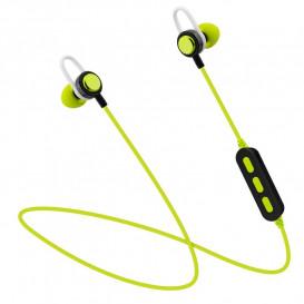 Auriculares Bluetooth Sport con Microfono Verde