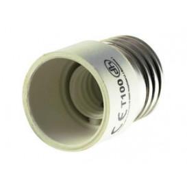 Adaptador Rosca Bombillas E14 Hembra a E27 Macho 12.108
