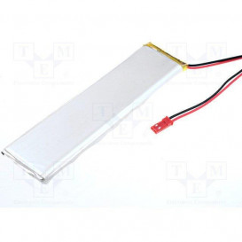 Bateria Li-Polimero 3,6V 5800mAh Cables 7x35x138mm