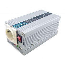 Inversor Corriente 24Vdc a 230Vac 300W + USB