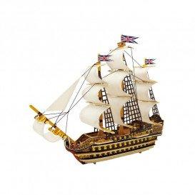 Puzzle Madera 3D Barco Royall